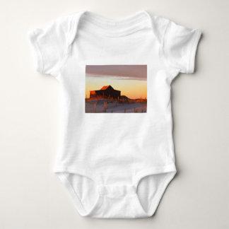 Body Para Bebê Casa no por do sol - 1