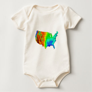 Body Para Bebê Casaco de muitas cores