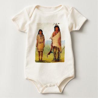 Body Para Bebê casamento tribal