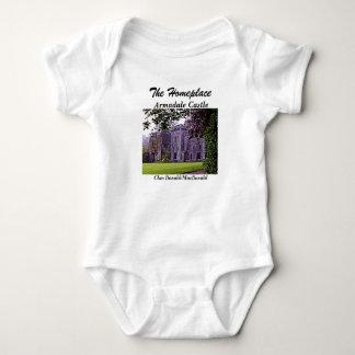 Body Para Bebê Castelo de Armadale - clã Donald/MacDonald