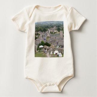 Body Para Bebê Castelo de Corfe, Dorset, Inglaterra