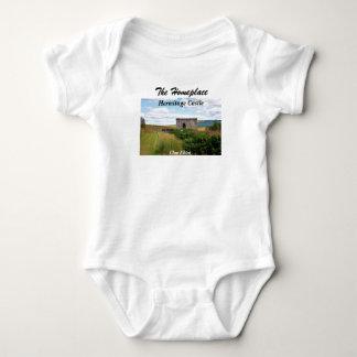 Body Para Bebê Castelo do eremitério - clã Elliot