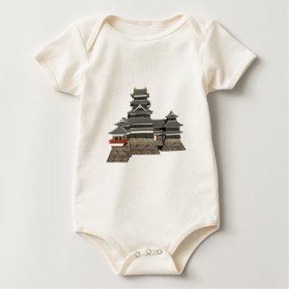Body Para Bebê Castelo japonês clássico
