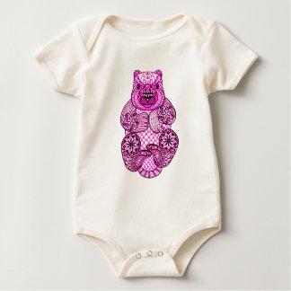 Body Para Bebê Castor