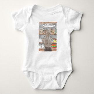 Body Para Bebê Castor com fome