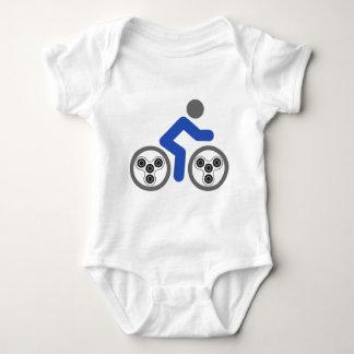 Body Para Bebê Cavaleiro do girador da inquietação