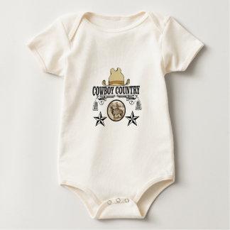 Body Para Bebê cavaleiro do país do vaqueiro