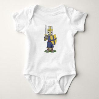 Body Para Bebê Cavaleiro medieval bonito