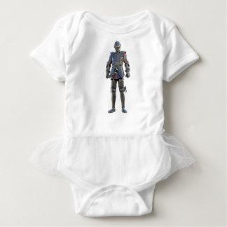 Body Para Bebê Cavaleiro que está e que olha para a frente