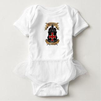Body Para Bebê Cavaleiros Templar