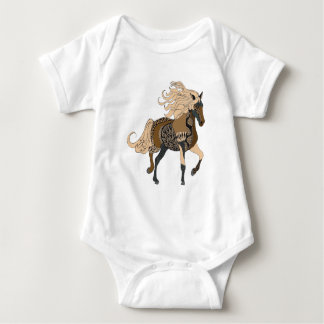 Body Para Bebê Cavalo