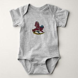 Body Para Bebê Cavalo de balanço de Dala