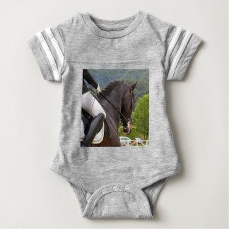 Body Para Bebê Cavalo Dressage