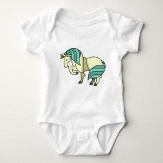 Body Para Bebê Cavalo estilizado dos desenhos animados