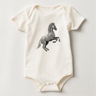 Body Para Bebê Cavalo selvagem