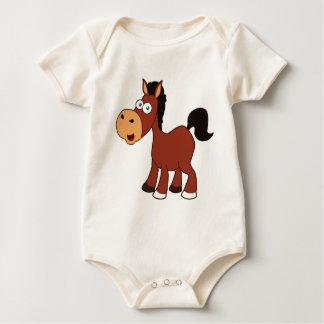 Body Para Bebê cavalo vermelho dos desenhos animados
