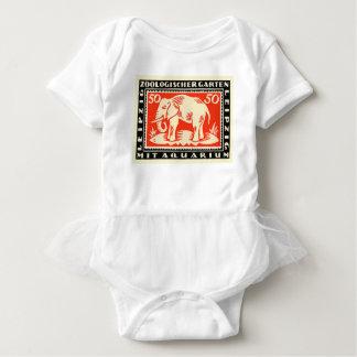 Body Para Bebê Cédula 1919 de Notgeld do jardim zoológico de