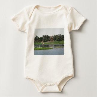 Body Para Bebê Cena de Nile do rio