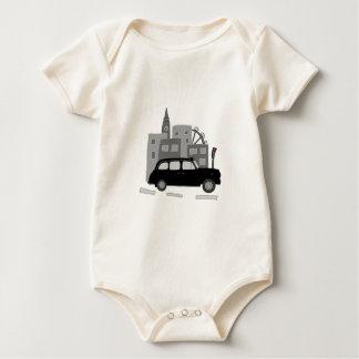 Body Para Bebê Cena do táxi