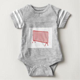 Body Para Bebê Cerca móvel vermelha
