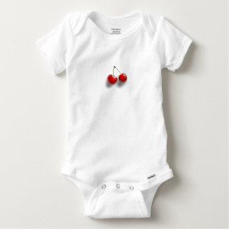 Body Para Bebê Cerejas