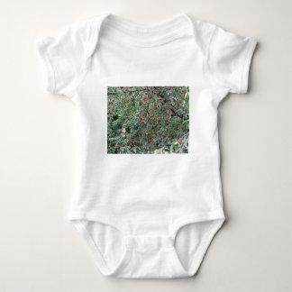 Body Para Bebê Cerejas vermelhas na árvore no pomar de cereja