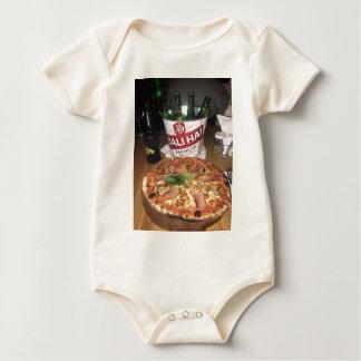Body Para Bebê Cerveja e pizza de Bali