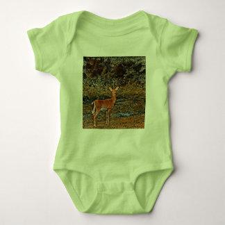Body Para Bebê Cervos astutos