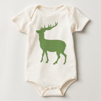 Body Para Bebê Cervos coloridos modernos
