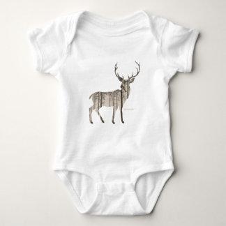 Body Para Bebê Cervos de Camo