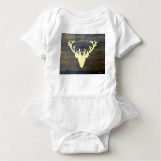 Body Para Bebê Cervos do estilo do chalé de Alpen