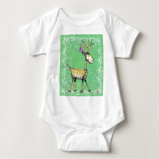 Body Para Bebê Cervos do feriado da vara