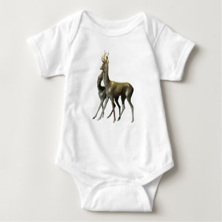 Body Para Bebê Cervos no amor