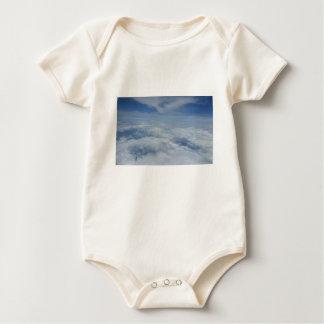 Body Para Bebê céu azul da manhã