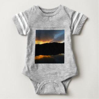 Body Para Bebê céu no espelho