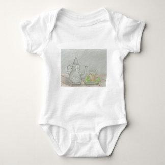 Body Para Bebê chá com hortelã