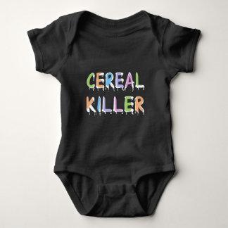Body Para Bebê Chalaça engraçada do assassino do cereal de |