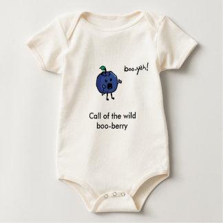 Body Para Bebê chamada da baga selvagem da vaia