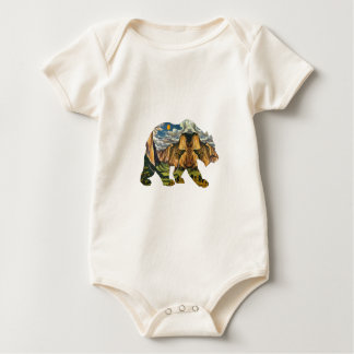 Body Para Bebê Chamadas de Yosemite