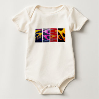 Body Para Bebê Chamas