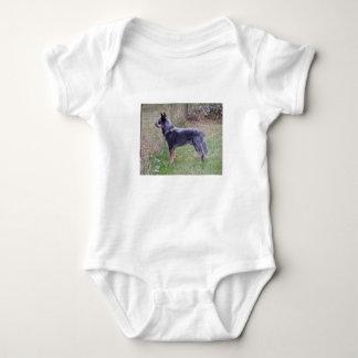 Body Para Bebê Cheio de Australian_Cattle_Dog_blue