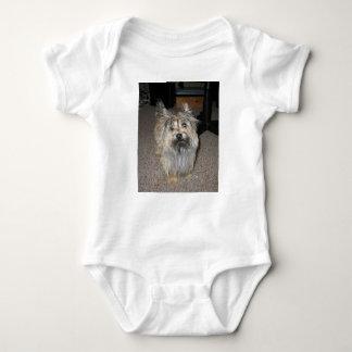 Body Para Bebê cheio do terrier de monte de pedras