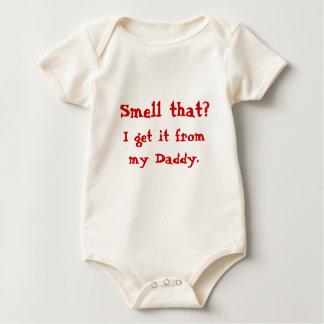 Body Para Bebê Cheire isso?