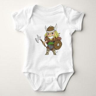 Body Para Bebê Chibi Viking (afligido)