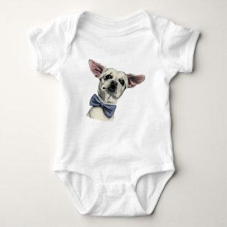 Body Para Bebê Chihuahua bonito com desenho do laço
