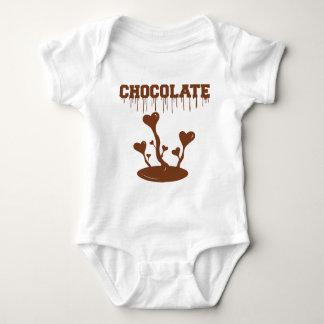 Body Para Bebê Chocolate