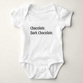 Body Para Bebê Chocolate. Chocolate escuro