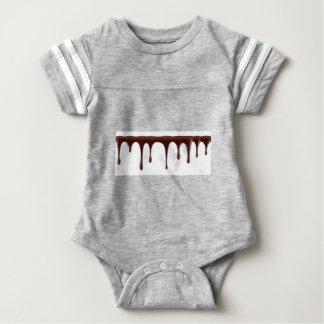 Body Para Bebê Chocolate derretido