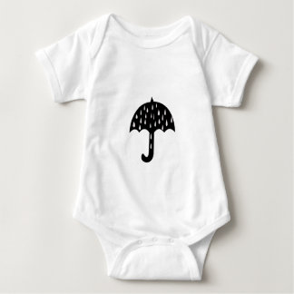 Body Para Bebê chuva do guarda-chuva