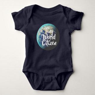 Body Para Bebê Cidadão minúsculo do mundo